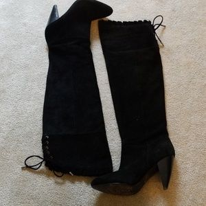 BCBGeneration Shoes - BCBG Generation Sanji suede over the knee boots